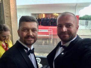 Автор фильма Валентин Васянович (слева) и Андрей Рымарук (справа). Фото: facebook.com/andrei.rumaryk