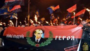Шествие националистов на Украине
