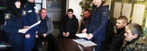 Жители села на Житомирщине создали отряд в помощь полиции. Фото: Вголос.ZT