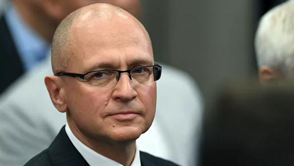 Замглавы администрации президента РФ Сергей Кириенко