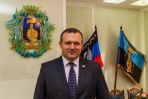 Мэр Донецка Александр Кулемзин